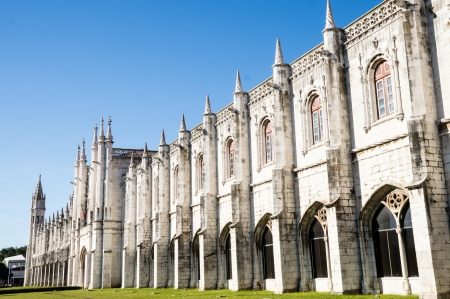 Jeronimos Monastery in Lisbon, Portugal Stock Photo