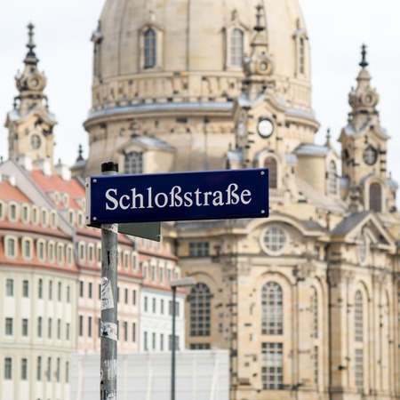 Church of Our Lady (Frauenkirche) in Dresden, Germany photo