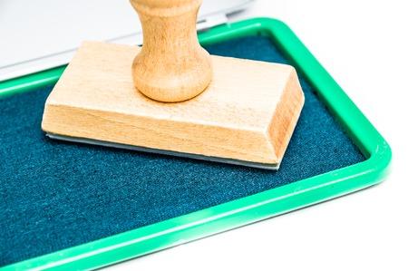 inkpad: green inkpad