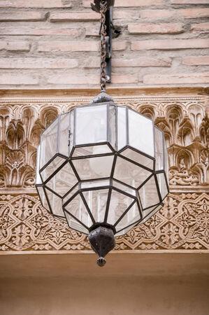 crystal arabic lamp photo