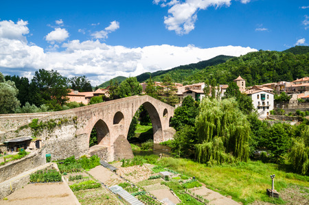 Sant Joan de les Abadesses in Girona, Catalonia, Spain