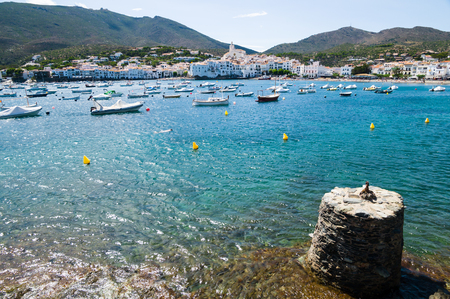 Cadaques in Girona, Catalonia, Spain photo
