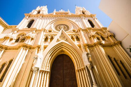 corazon: Sagrado Corazon in Malaga, Spain Stock Photo