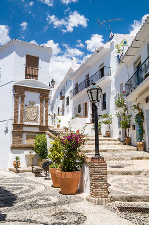 Frigiliana in Malaga, Andalusia, Spain