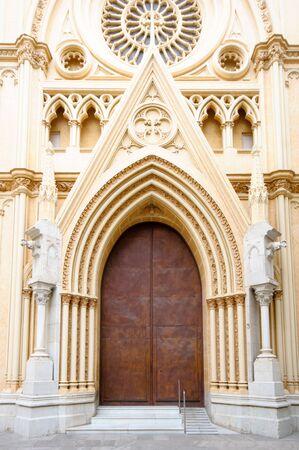 corazon: Sagrado Corazon church in Malaga, Andalusia, Spain