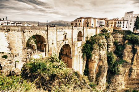 Ronda in Malaga, Spain Stock Photo