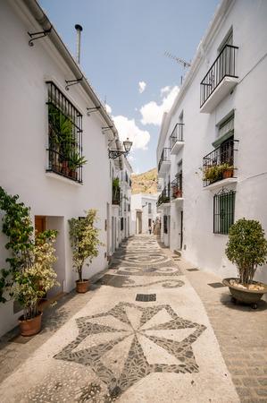 frigiliana: Frigiliana in Malaga, Andalusia, Spain