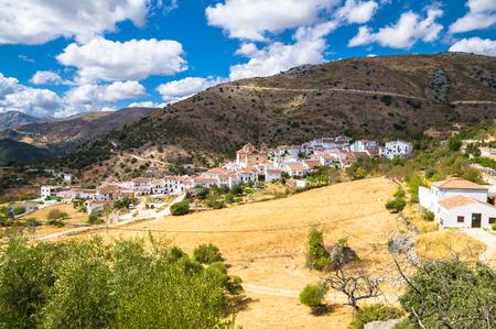 malaga: Alpandeire in Malaga, Spain
