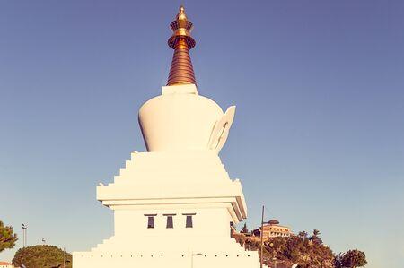 buddhist stupa: