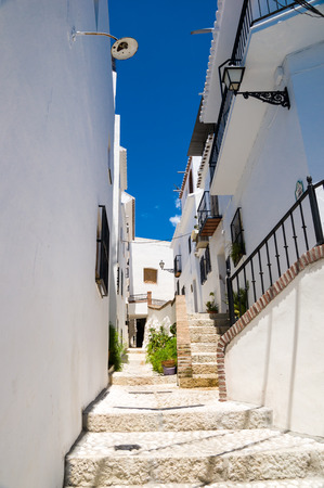 malaga: Frigiliana in Malaga, Andalusia, Spain