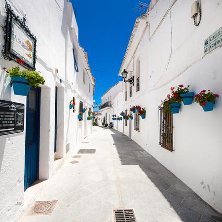 Mijas à Malaga, Andalousie, Espagne Banque d'images - 42925544