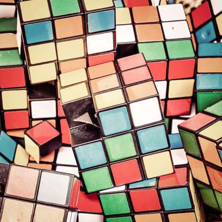 rubik: rubik cubes vintage