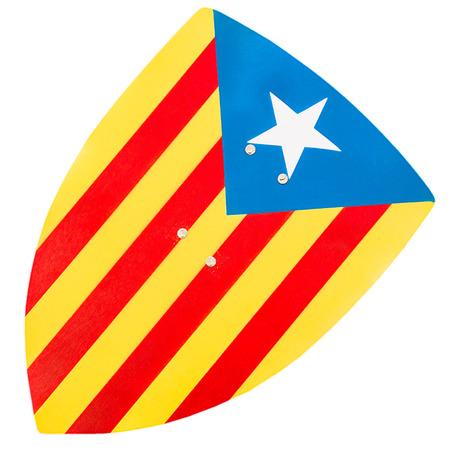 separatism: Estelada, the Catalan independentist flag