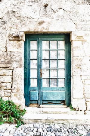 old facade Stockfoto