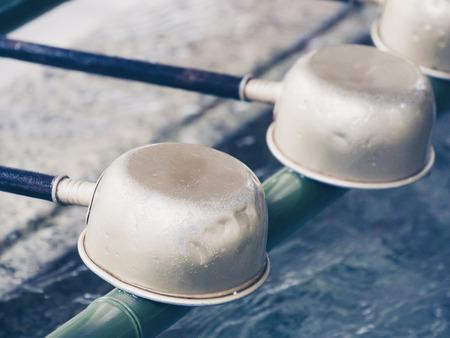 ladles: Ladles in japanese temple in Nikko, Japan