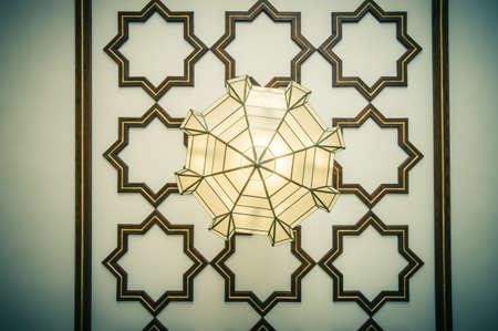 moorish: moorish lamp Stock Photo