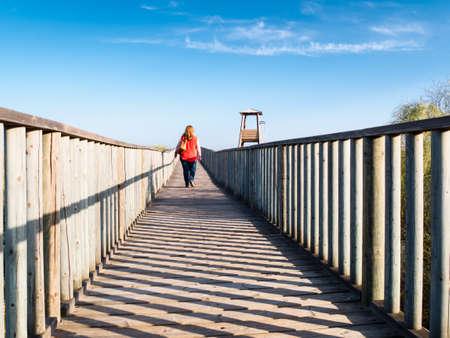huelva: beach in Isla Antilla, Huelva, Spain