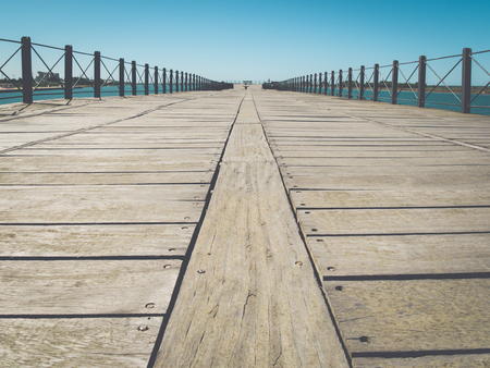 huelva: Riotinto dock in Huelva, Spain Stock Photo