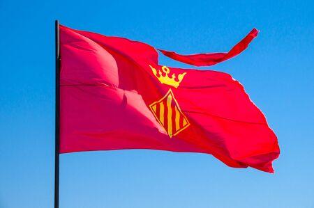 autonomic: Xativa flag Stock Photo
