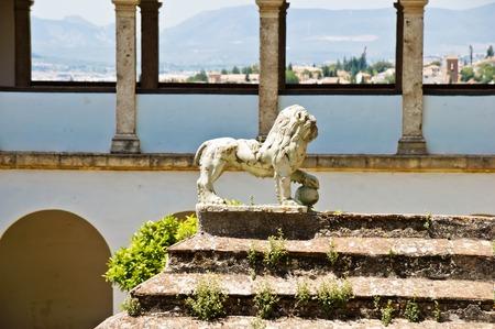 the  alhambra: Alhambra in Granada, Andalucia, Spain Stock Photo