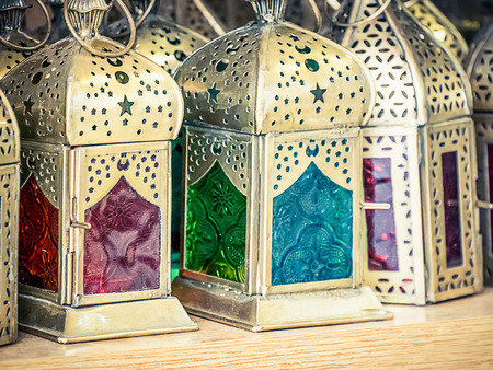 arabic lamps Stockfoto