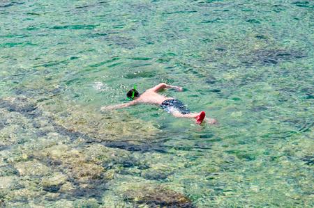 snorkel: snorkel Stock Photo