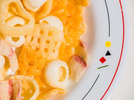 snack: potato snack Stock Photo