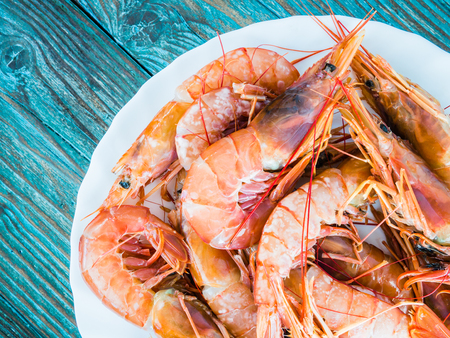 portugal: fresh King prawns