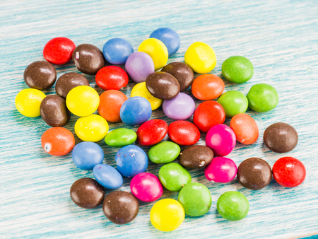 colorant: chocolate candy Stock Photo