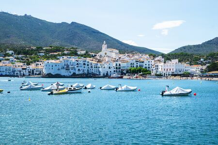 jewish houses: Cadaques in Girona, Catalonia, Spain