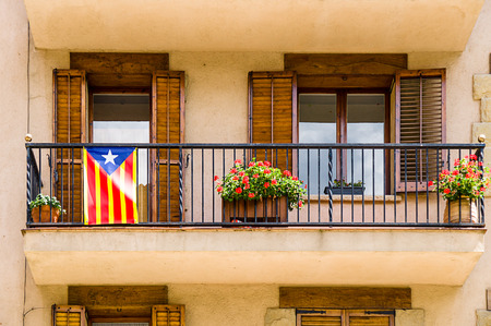 separatist: Estelada, the Catalan independentist flag