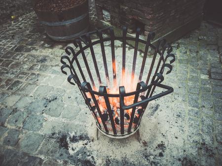 stove: coal stove