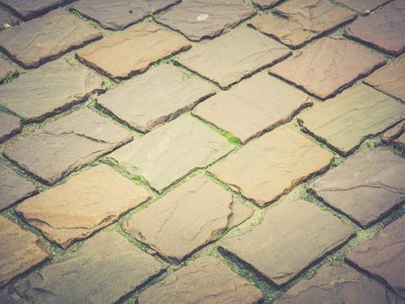 empedrado: camino pavimentado