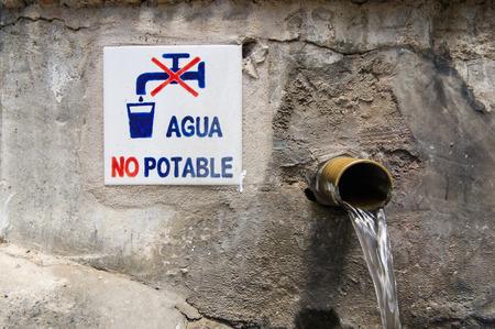 potable: non potable water