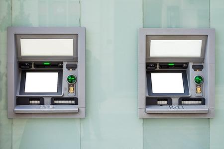 automatic transaction machine: ATM machine Foto de archivo