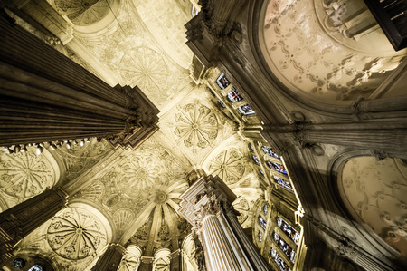 malaga: Malaga catedral, Spain