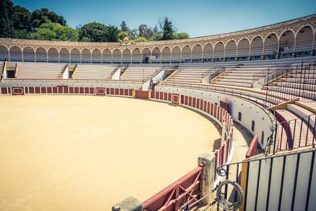 bullring: bullring in Antequera, Malaga, Spain