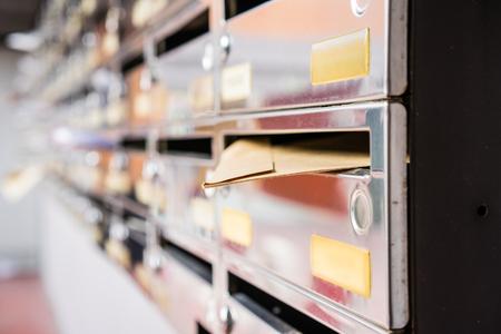 shiny: Shiny postboxes.