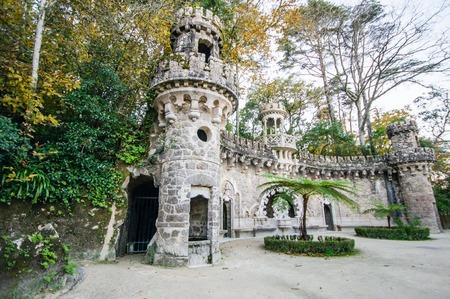 quinta: Quinta da Regaleira in Sintra, Portugal. Editorial