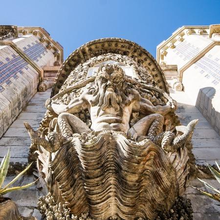 sintra: Palace da Pena. Sintra, Lisbon. Portugal. Editorial