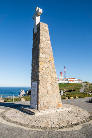roca: Cabo Da Roca, Sintra, Portugal. The most western point in continental Europe.