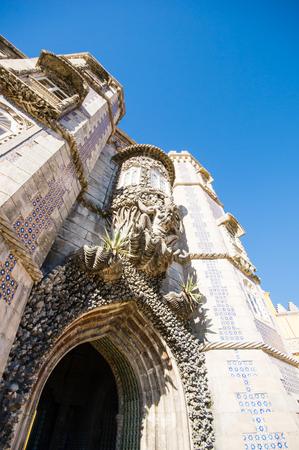 Palace da Pena. Sintra, Lisbon. Portugal. Editorial
