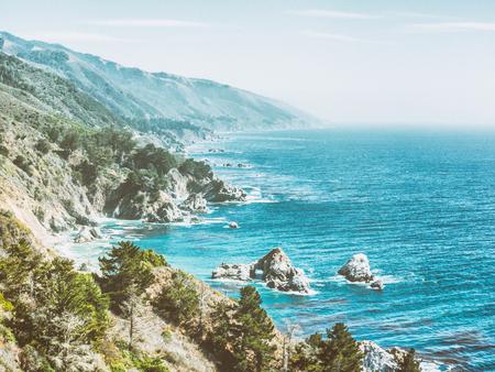 Big Sur in California, USA Stock Photo