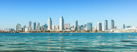 San Diego cityscape, USA
