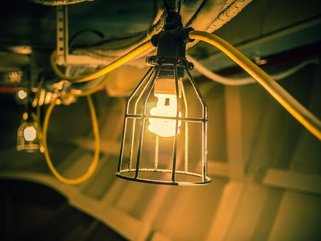 industrial lamp Stock Photo