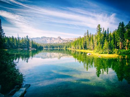 Mammoth Lakes en California, Estados Unidos Foto de archivo - 94617224