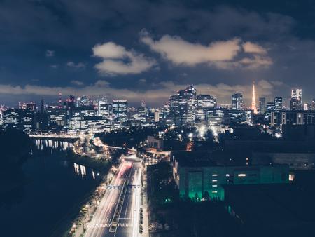 Tokyo cityscape. Japan