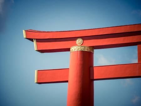 Heian shrine in Kyoto, Japan