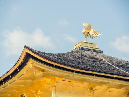 Kinkaku-ji in Kyoto, Japan Editorial