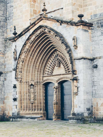 church in Guernica in Basque Country, Spain Stock Photo